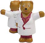 Nurse Bear Stress Balls
